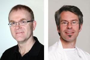 Dag Arne Lihaug Hoff og Jan Gunnar Hatlebakk.