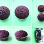 Figur 2: Pasientene i en dobbelt-blindet placebo-kontrollert provokasjonsstudie med gluten på Haukeland Universitetssykehus fikk utdelt fire identiske poser med muffins-miks (F), hvorav to med gluten (B+E+C1) og to med placebo (A+D+C2). Muffinsene var helt standardiserte, og ingen av pasientene klarte å skille glutenmuffins fra placebomuffins hverken på smak, utseende eller konsistens. Pasientene skulle gjennom fire provokasjonsrunder, bestående av fire dager med provokasjon (2 muffins per dag=11 g gluten) etterfulgt av tre dager med wash-out før ny provokasjonsrunde.
