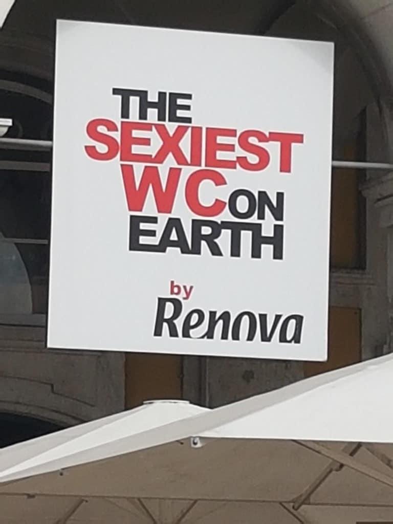 I Lisboa kunne man blant historiske bygninger også finne jordens mest sexy toalett….